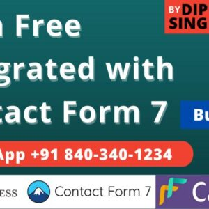 Cash Free Payment Gateway Integration with WordPress (Contact Form 7)