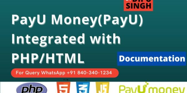 How to integrate PayU (PayU Money) with PHP [Documentation]
