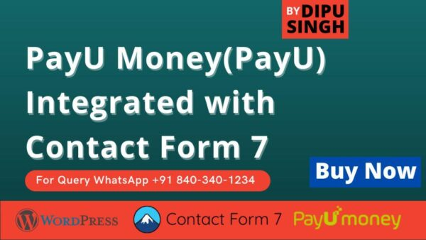 PayU Money Contact Form 7 Plugin - Buy now