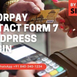 Razorpay Contact Form 7 Plugin
